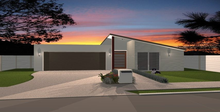The Eclipse: 1 Storey, 4 Bedroom
