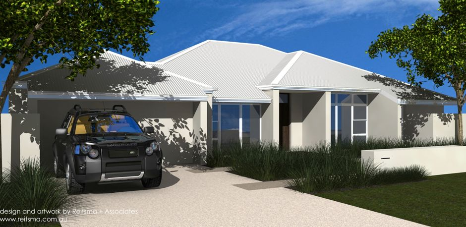 The Macartney 240: 1 Storey, 4 Bedroom and Media Room